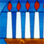 THe Menorah of Passover.